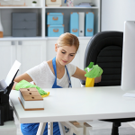 How to hire any professional office cleaning and disinfection services near me ?